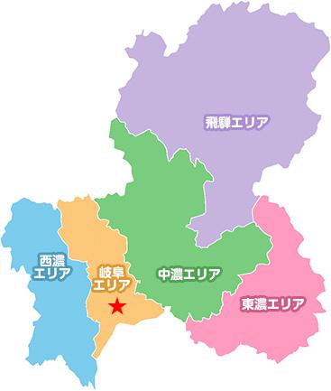 鵜飼のマップ