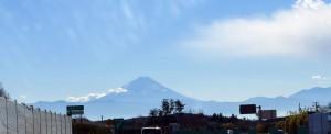 行き富士山